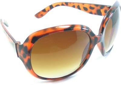 VIAANO Oval, Wrap-around, Over-sized Sunglasses