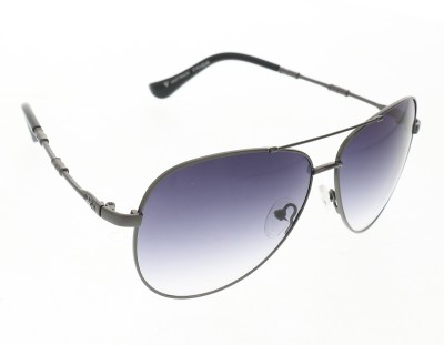 Vast 1829_men_women_matt_grey_gun_aviator Aviator Sunglasses(Grey)
