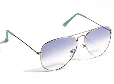 Danny Daze D-1701-C20 Aviator Sunglasses(Blue)