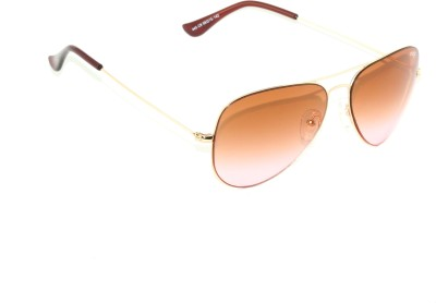 IMAGE IM-445-C9 Aviator Sunglasses(Orange, Pink)