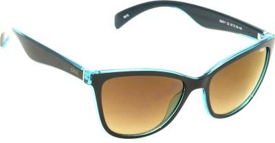 IDEE IDEE-S2017-C2 Wayfarer Sunglasses(Brown)