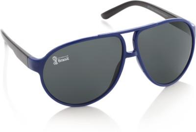 FIFA FB-S-109 Aviator Sunglasses(Grey)