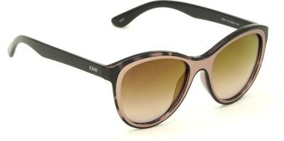 IDEE S2191-C3 Pink Mirror Shaded Medium 55mm Cat-eye Sunglasses(Pink)