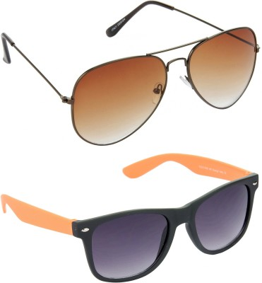 Red Leaf RCMB383_1 Aviator, Wayfarer Sunglasses(For Boys)
