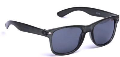 Beqube SGB01 Wayfarer Sunglasses(Black)