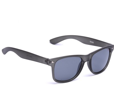 Beqube MB001 Wayfarer Sunglasses(Black)