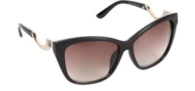 6by6 SG798 Cat-eye Sunglasses(Brown)