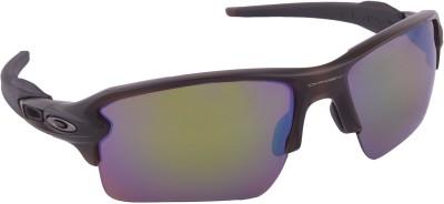 Oakley Flak 2.0 XL Matte Rootbeer w/ Prizm Shallow Water Polarized Wrap-around Sunglasses