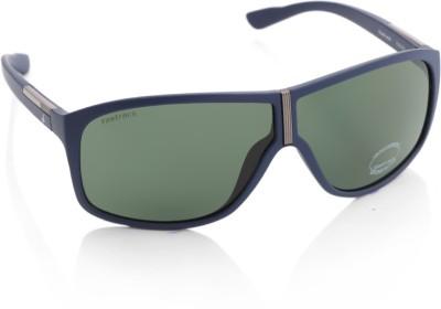 Fastrack P260GR2 Rectangular Sunglasses(Green)