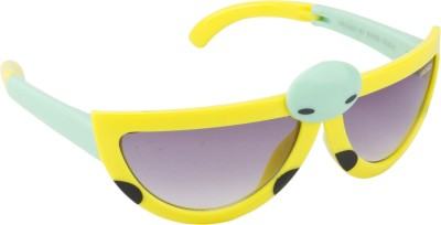 Froggy Bug Over-sized Sunglasses