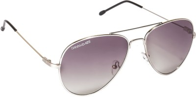 Danny Daze D-007-C2 Aviator Sunglasses(Grey)