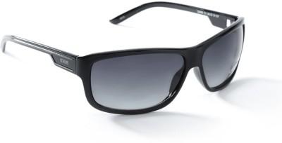 IDEE IDEE S2009 C1 63 Wayfarer Sunglasses(Grey)