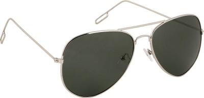 Olvin OL345-03 Aviator Sunglasses(Green)