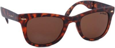 Joe Black JB-702-C3 Wayfarer Sunglasses(Brown)