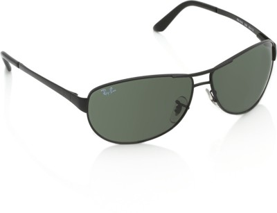 Ray-Ban 0RB3342I 006 Aviator Sunglasses(Green)