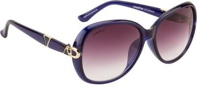 O Positive sky line Oval Sunglasses