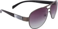 Camerii SOW70 Oval Sunglasses(Green)