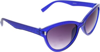 Vast WOMENS _3075_PIN_CATEYE_BLUE_GLARES Wayfarer Sunglasses(Grey)