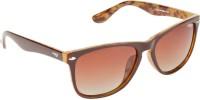 Image S476-C4P Wayfarer Sunglasses(Brown)
