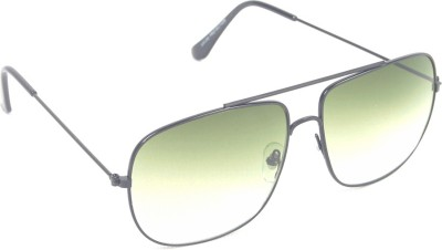 6by6 SG540 Rectangular Sunglasses(Green)