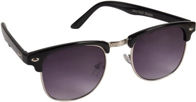 Natali Traders Unisex Clubmaster Wayfarer Sunglasses