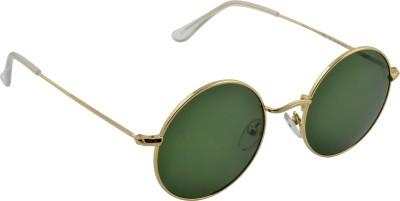 Joe Black C4 Round Sunglasses(Green)