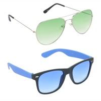 Red Leaf RCMB170_1 Aviator Wayfarer Sunglasses(For Boys)