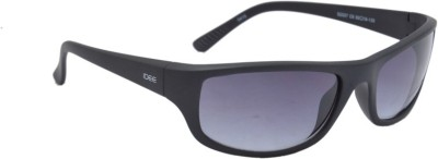 IDEE s2007,c6 Rectangular Sunglasses(Black)