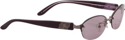 Jill Stuart Oval Sunglasses