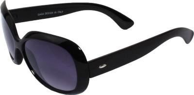 Veins Oval Sunglasses