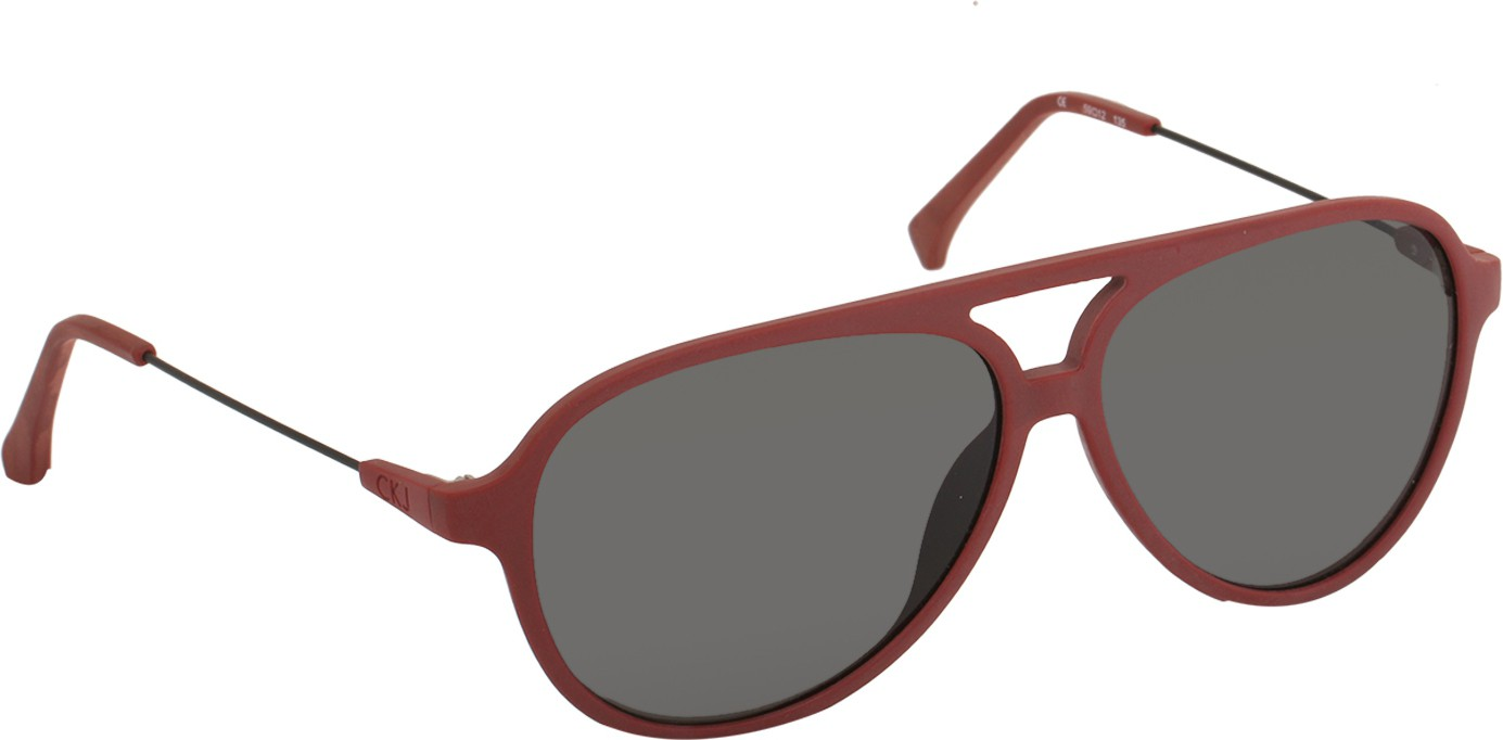 e358feaf81a Calvin Klein CK Jeans 411 600 S Aviator Sunglasses(Grey)