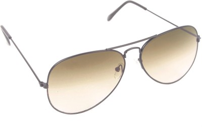 6by6 SG261 Aviator Sunglasses(Brown)