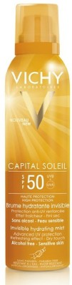 Vichy Capital Soleil Invisible Hydrating Mist - SPF 50