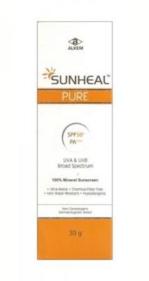 Alkem Sunheal pure - SPF 50 PA+++(30 g)