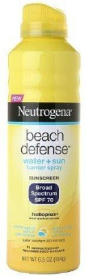 Neutrogena Beach Defense Water + Sun Barrier Sunscreen - SPF 70 PA+++