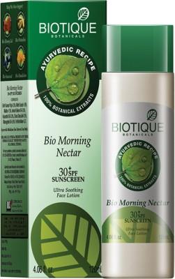 Biotique BIO Morning Nectar 30 SPF Sunscreen lotion -120 ml - SPF 30 PA+