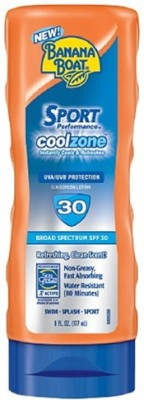 Banana Boat Sport Coolzone Sunscreen Lotion - SPF 30 PA+++