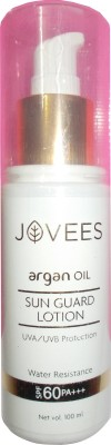 Jovees Sun Guard Lotion UVA / UVB Protection Water Resistance - SPF 60 PA+++