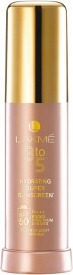Lakme 9 to 5 Hydrating Super Sunscreen Lotion with 50 - SPF 50 PA+++