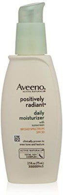 Aveeno Active Naturals Positively Radiant Daily Moisturizer - SPF 30(75 ml)