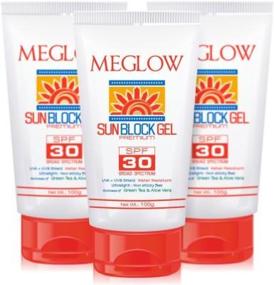 Meglow Sun Block Gel - SPF 30 PA+