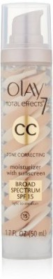 Olay Cc Cream - Total Effects Tone Correcting Moisturizer With Sunscreen Broad Spectrum Spf 15 - SPF 15