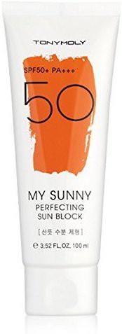 Tonymoly My Sunny Perfecting Sun Block - 100ml (SPF50+ PA+++) - SPF 50 PA+++(100 ml)