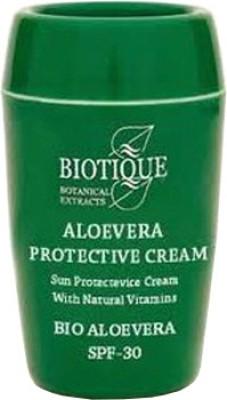 Biotique Bio Aloe Vera Sun Cream With SPF-30 - SPF 30