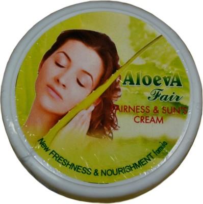 Aloeva Herbal Aloe-Vera Suns and Fairness Cream - SPF 50 PA++