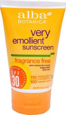 Alba Botanica Fragrance Free Sunscreen - SPF 30 PA++