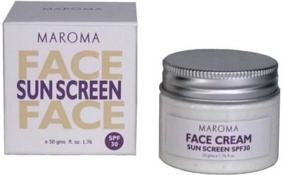 Maroma Auroville Face Sunscreen - SPF 30 PA+