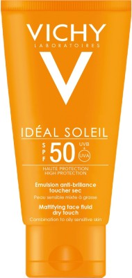 Vichy Ideal Soliel Mattifying Face Fluid Dry Touch - SPF 50