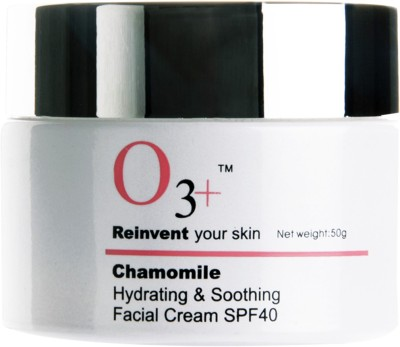 O3+ Chamomile Hydra & Soothing Facial Cream - SPF 40