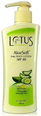 Lotus Aloe Soft Daily Body Lotion - SPF 20